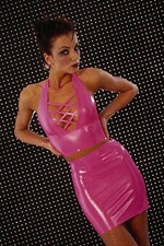 Skintight mini jurk - ST101