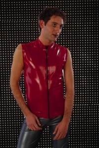 Skintight Zip Front Shirt - ST530