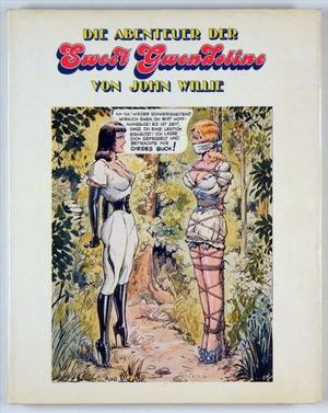 Die Abenteur der Sweet Gwendoline von John Willie - sweet gwendoline 1