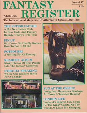 Fantasy Register # 17 - fr17